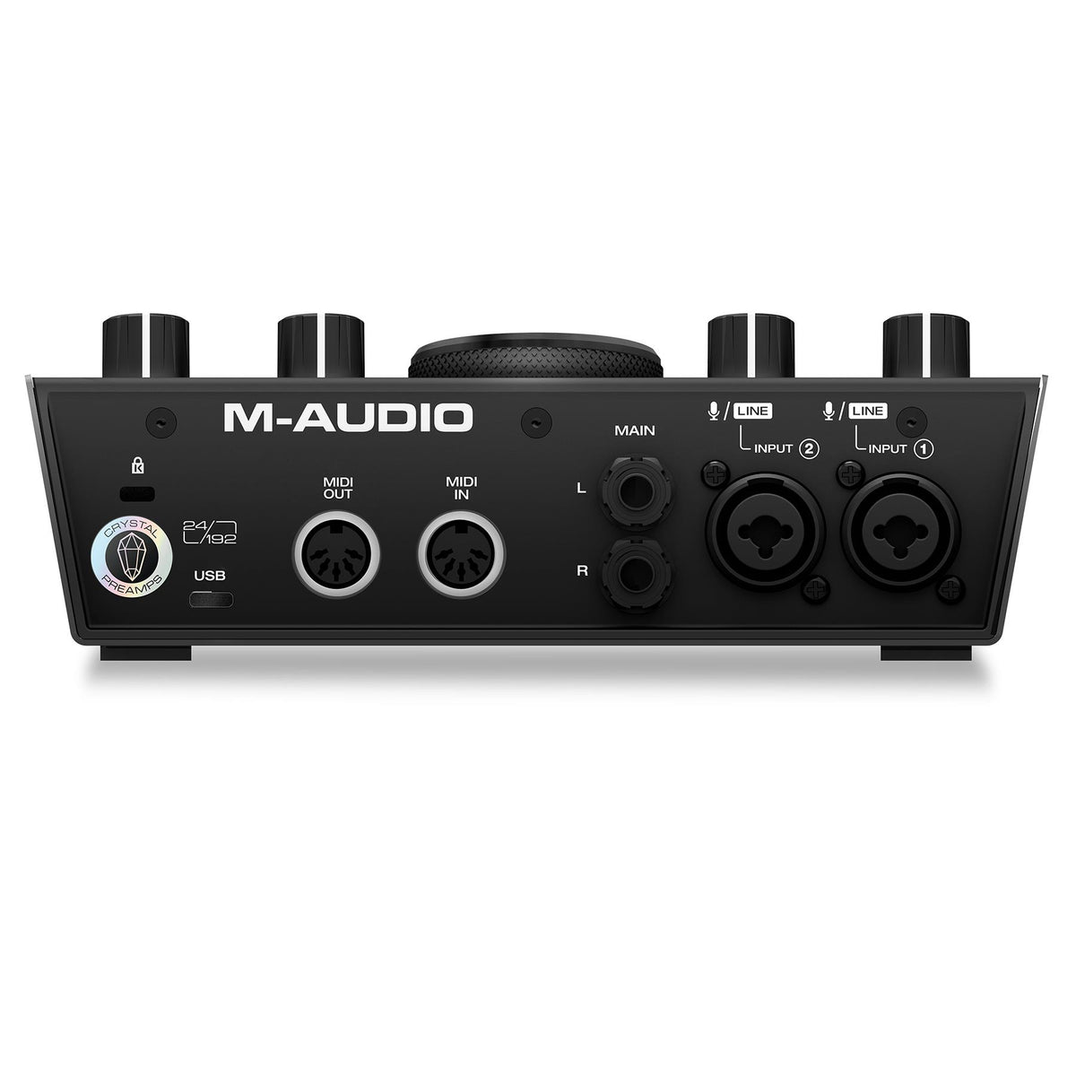 M-Audio Air 192|6 2-In/2-Out 24/192 USB-C Audio/MIDI Interface with ProTools|First and Ableton Live Lite