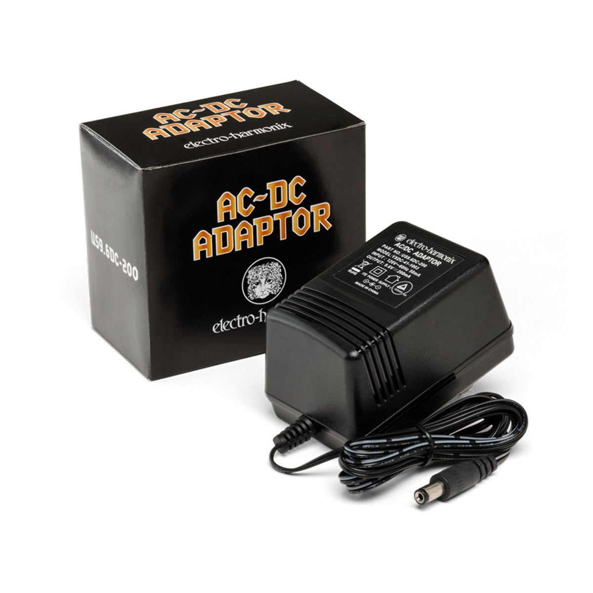 Electro-Harmonix 9.6V AC-DC Power Supply for MICRO Q-TRON Guitar Effects Pedals