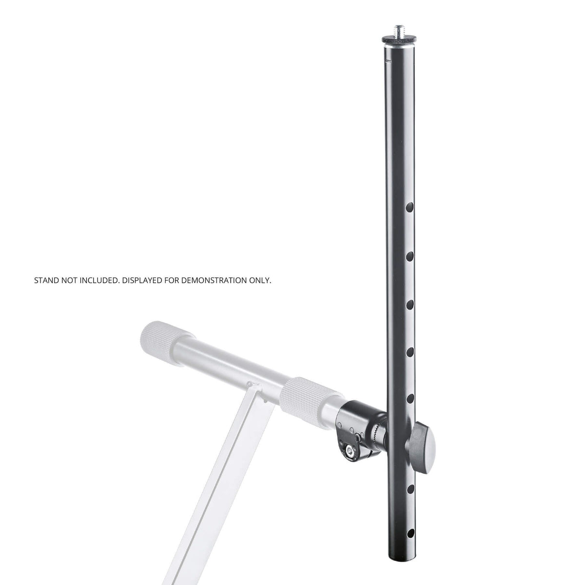 K&M 18944 Black 30mm Universal Holder for X-Keyboard Stands 18930 18940 18990 18995