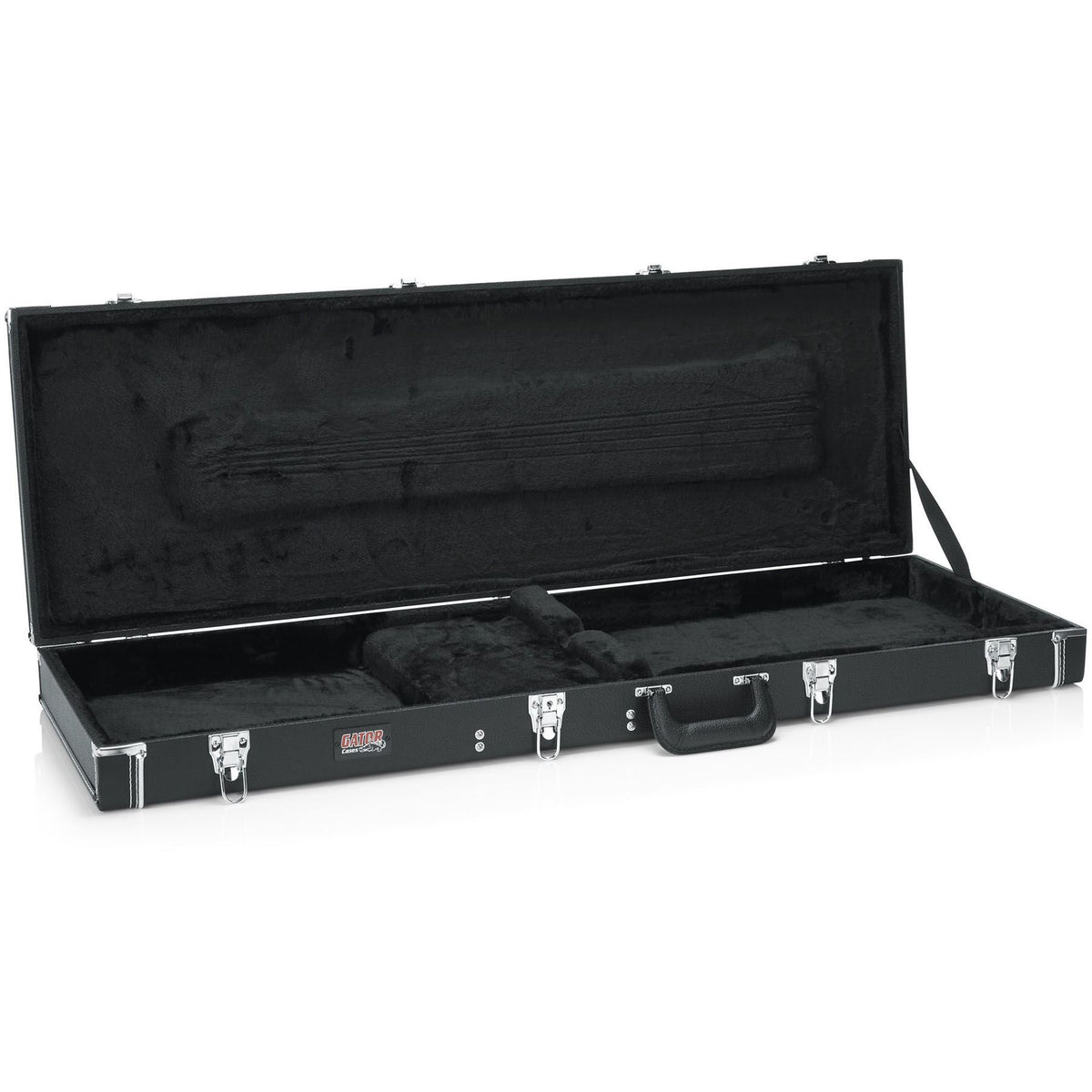 Gator Cases Deluxe Wood Case for Dean Edge 5 Bass Guitars