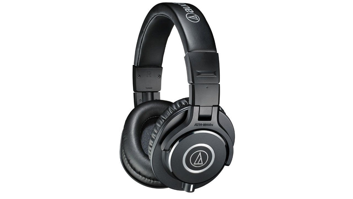 Audio-Technica ATH-M40x Headphones Bundle with Gator Cases Headphone Case