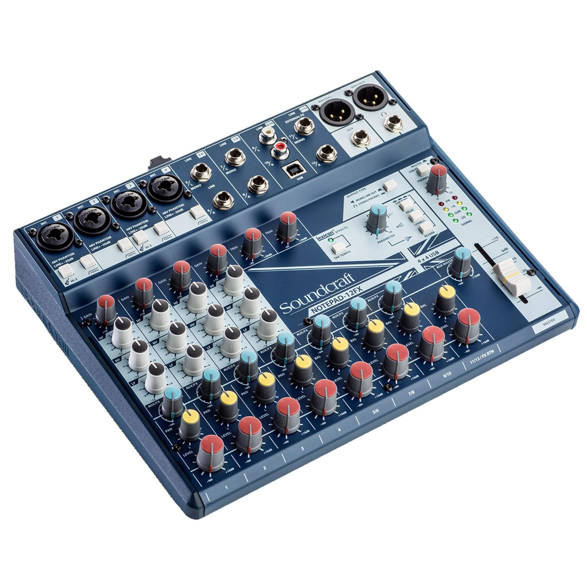 Soundcraft Notepad-12FX Analog Mixing Console
