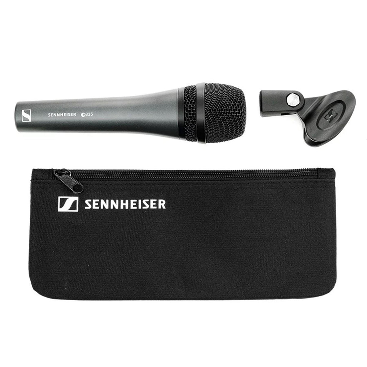Sennheiser e835 Microphone Bundle with 20-foot XLR Cable & Stand