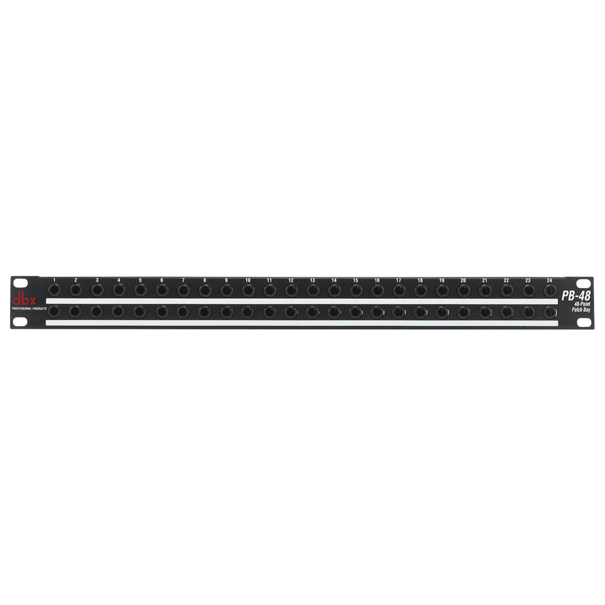"DBX PB-48 48-Point 1/4"" Patch Bay"