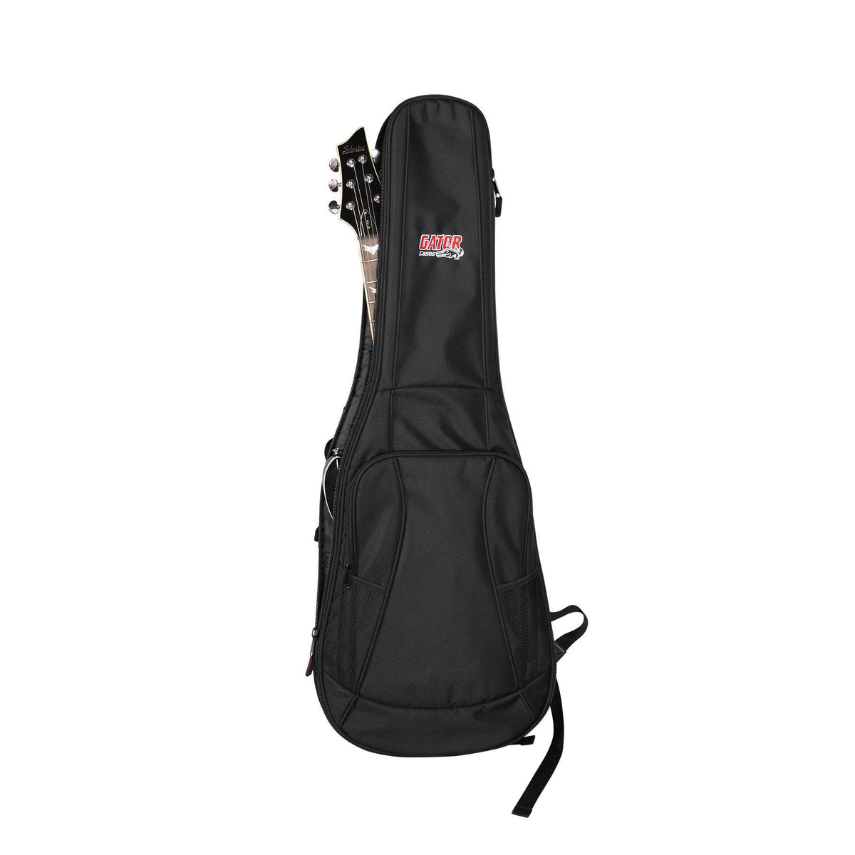 Gator Electric Guitar Backpack Gig Bag for Gibson Les Paul Deluxe, Studio, Junior, Menace Guitars