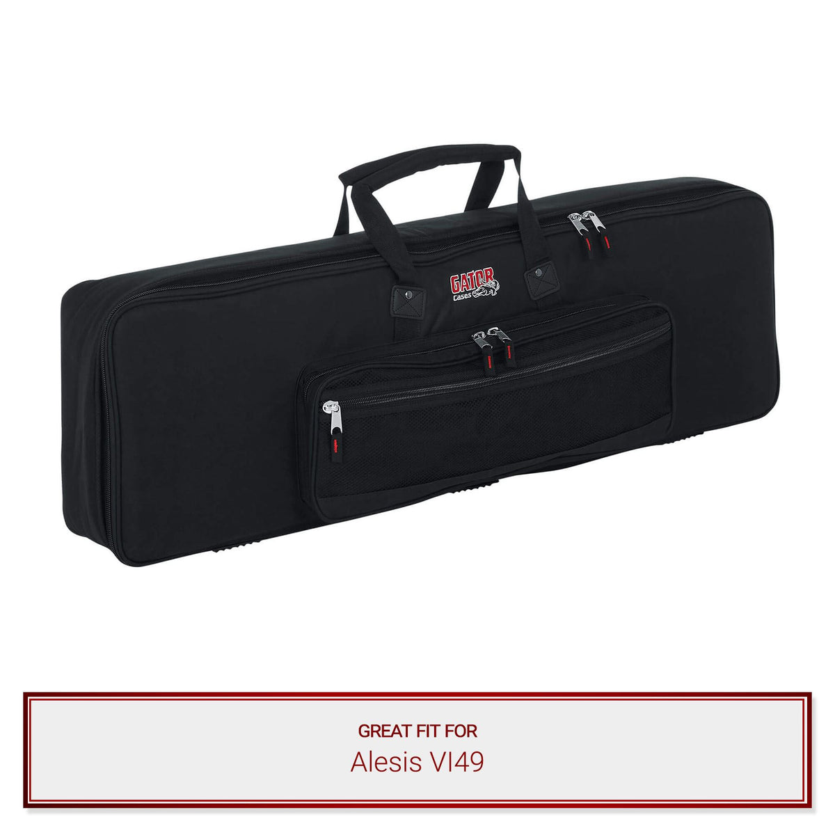 Gator Slim Keyboard Gig Bag for Alesis VI49
