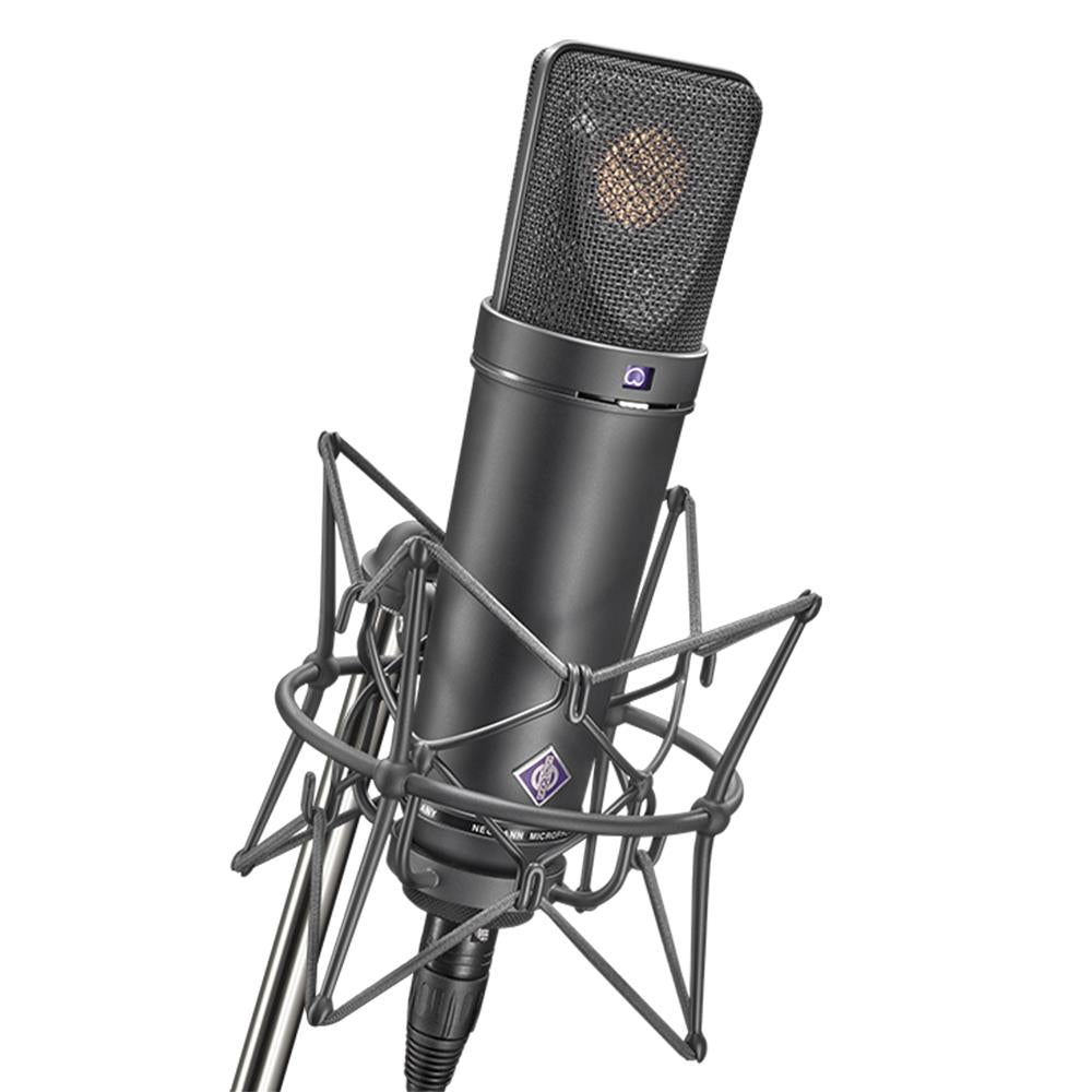 Neumann U 87 AI MT Set w/ Shockmount - Matte Black