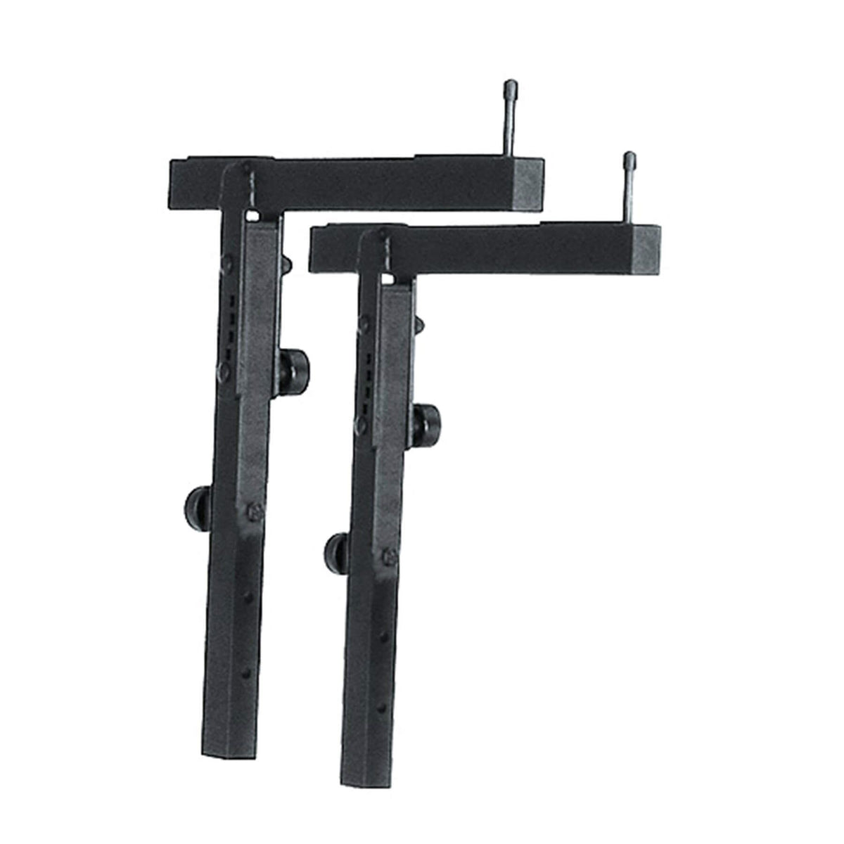 K&M 18881 Black Stacker A Adjustable 2nd Tier for Keyboard Stand 18880