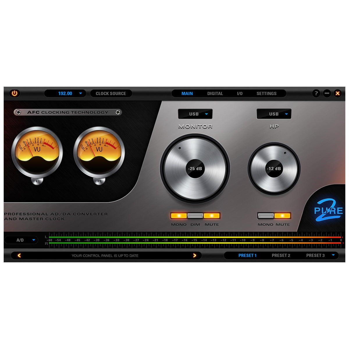 Antelope Audio Pure 2 Mastering-Grade Converter and USB Audio Interface