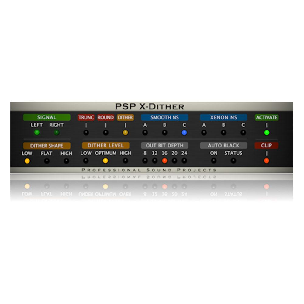 PSP Audio X-Dither Mastering Dither Processor Plugin  (Digital Download)