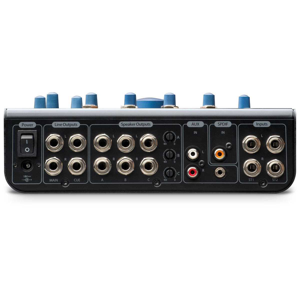 "PreSonus Monitor Station V2 Bundle with 4 5-Foot 1/4"" TRS Cables"
