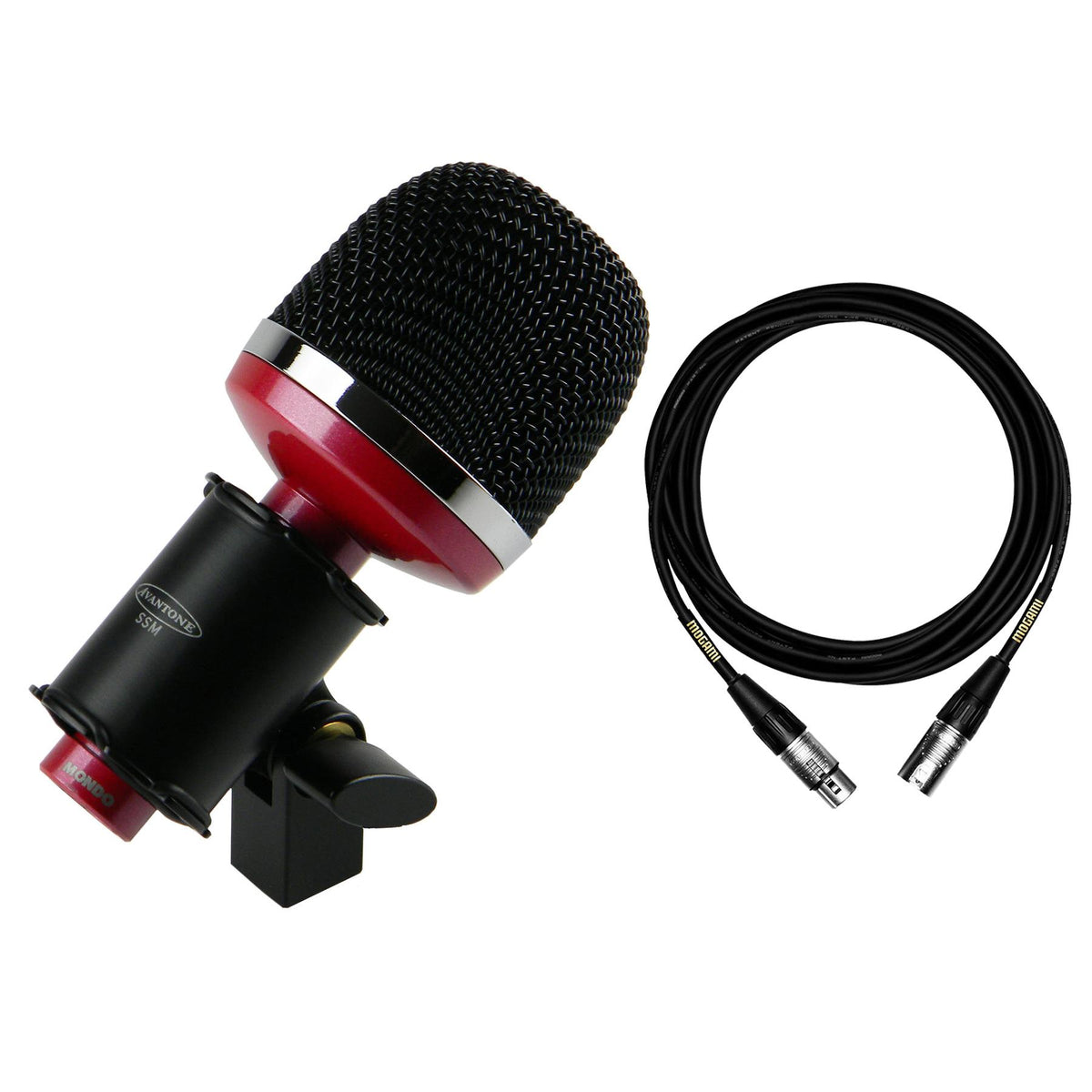 Avantone Pro Mondo Microphone Bundle with Premium 15-foot XLR Mogami Cable