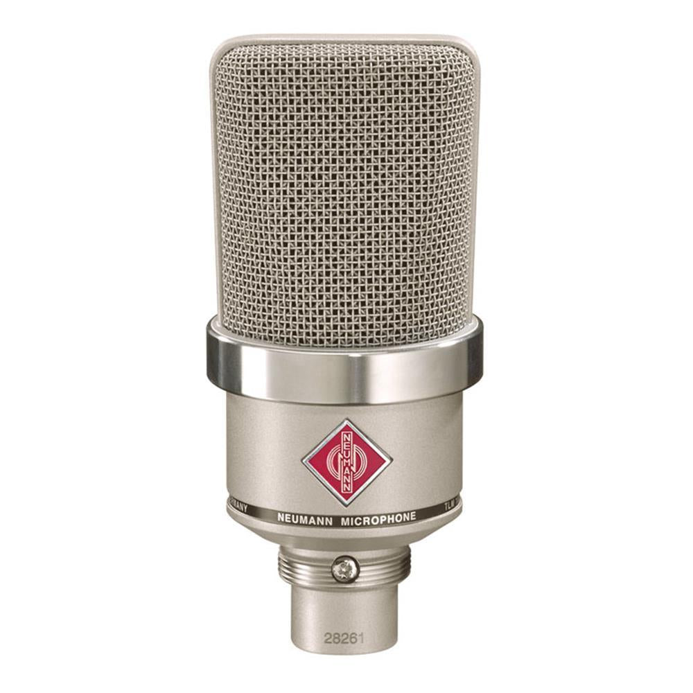 Neumann TLM 102 Nickel Microphone Bundle with Bonus Shock Mount & 20-foot XLR Cable