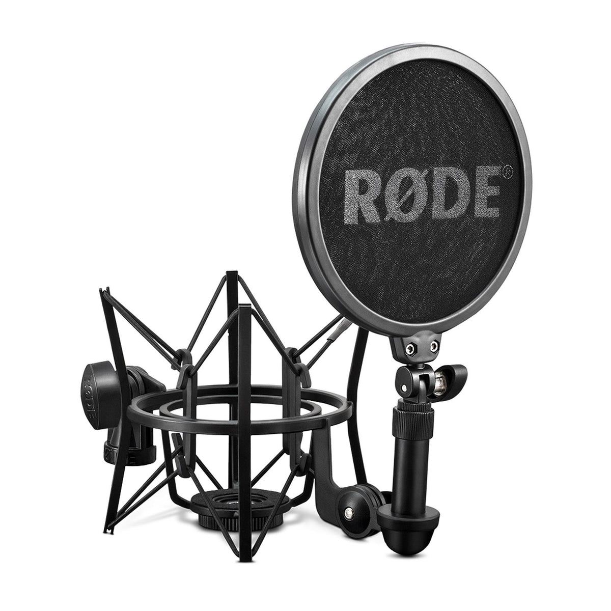 Rode NT1 Studio Condenser Microphone with Shock Mount, Pop Filter, and Cable