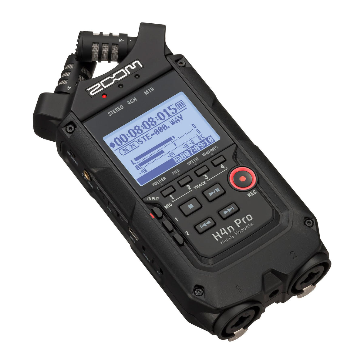 Zoom H4n Pro AB All Black Handy Recorder