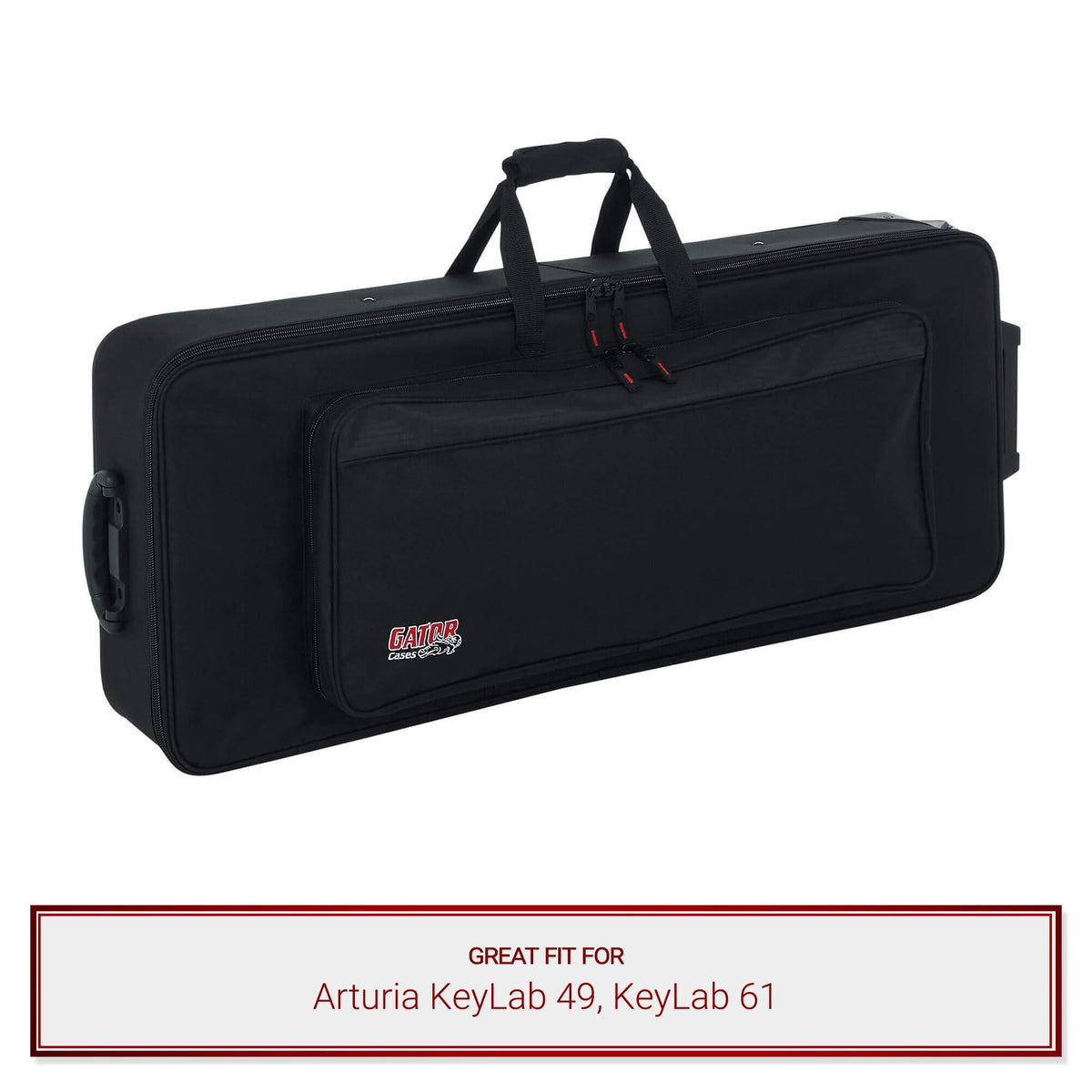 Gator Keyboard Case for Arturia KeyLab 49, KeyLab 61