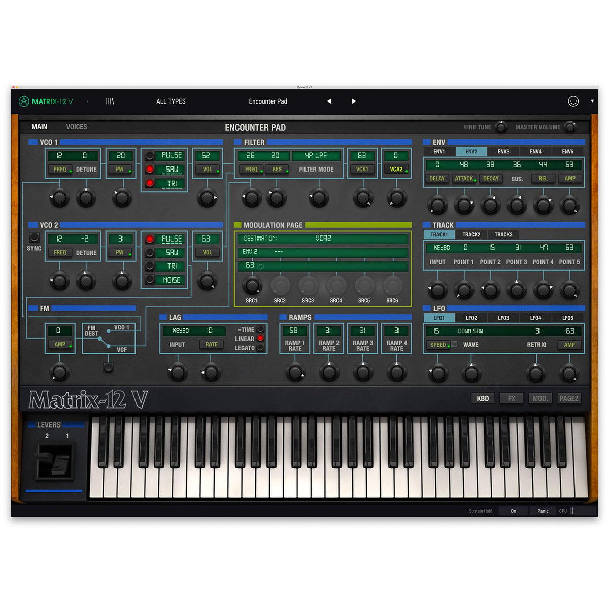 Arturia Matrix-12 V2 License (Digital Download)