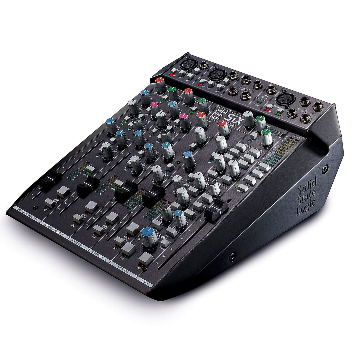 Solid State Logic SiX 12-Channel Super Analogue Desktop Mixer