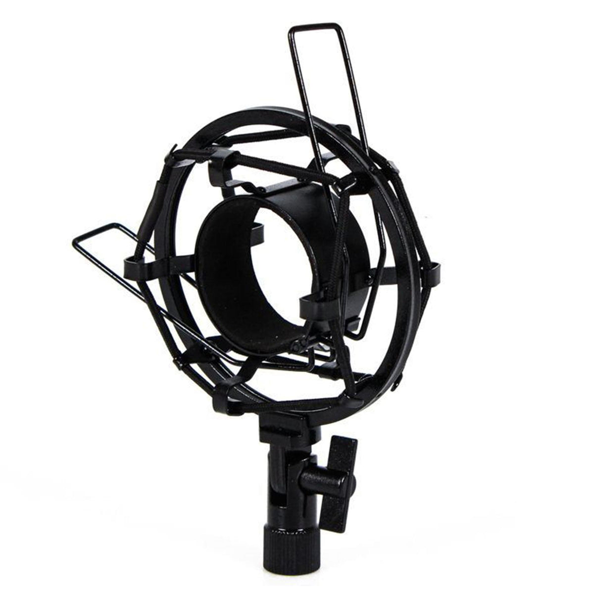 Black Shock Mount for Audix D6 Microphone