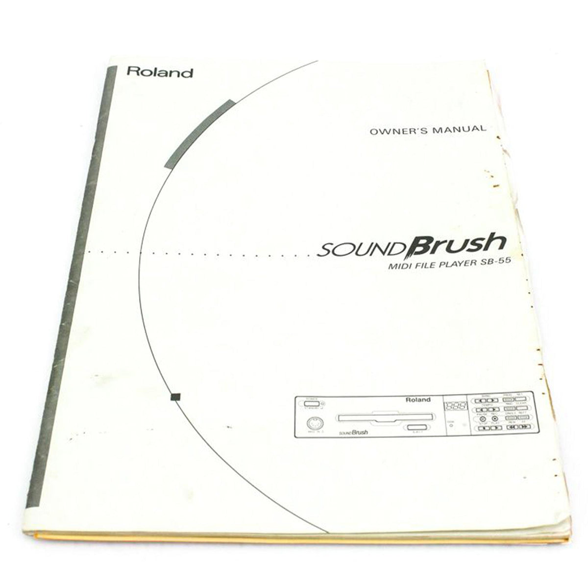 Manual for Roland Sound Brush SB-55