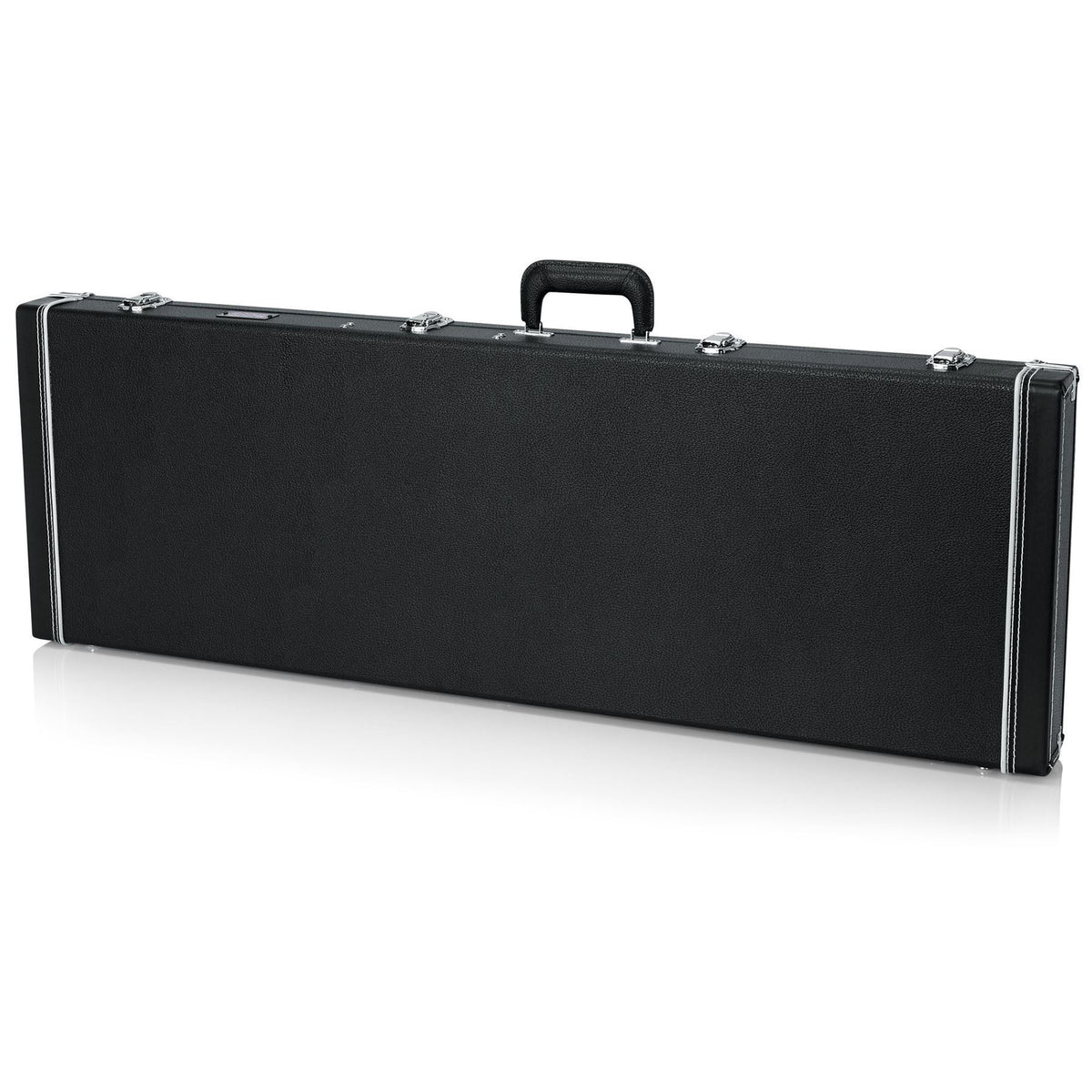 Gator Cases Deluxe Wood Case for Fender Squier Vintage Fretless Modified Jazz Bass Guitars
