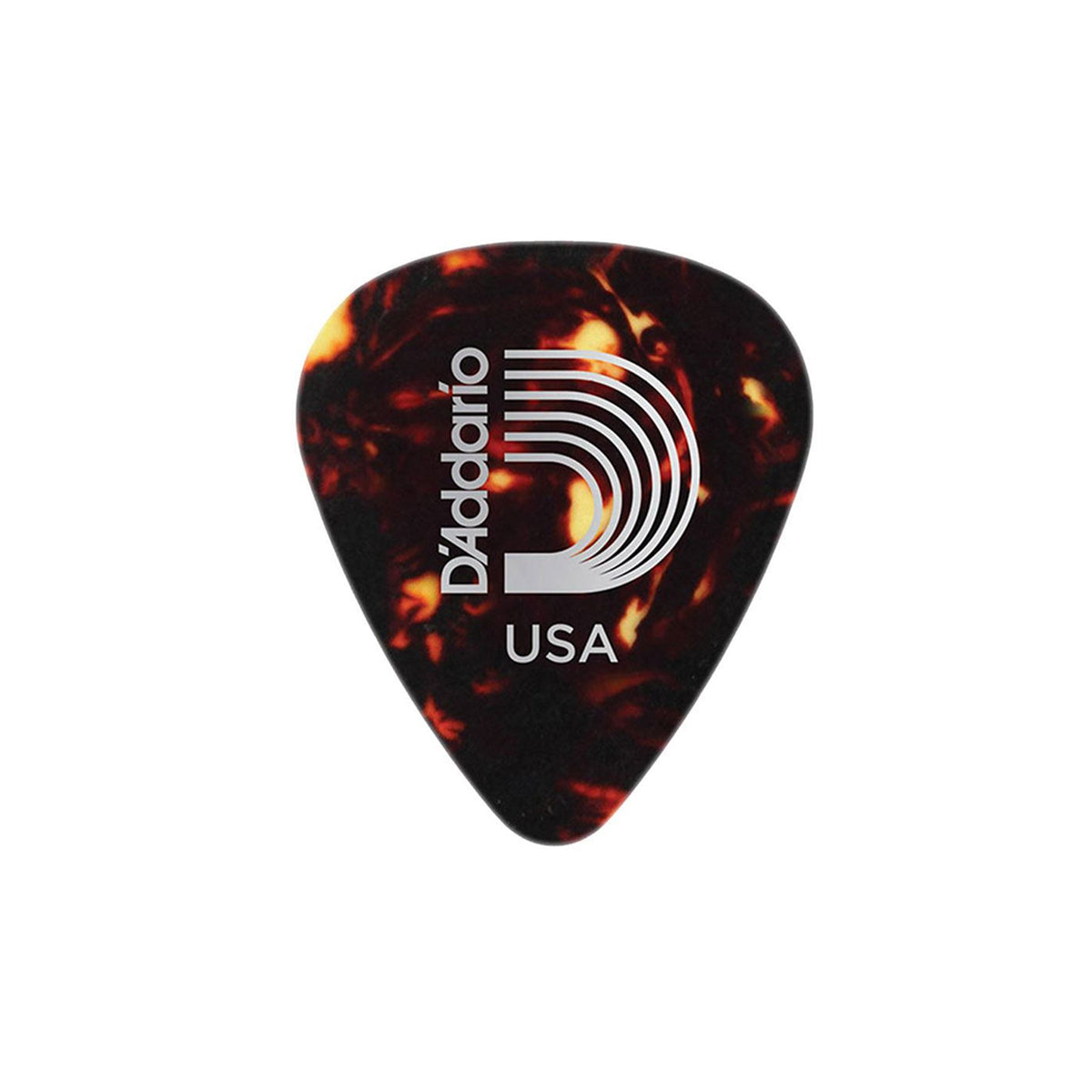 Planet Waves 1CSH2 Shell Color Celluloid Light Guitar Picks - 10-Pack