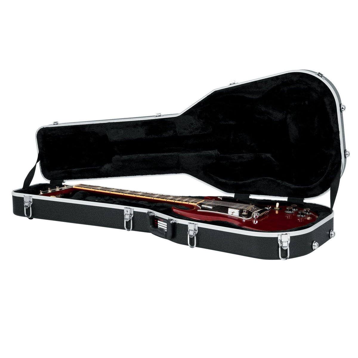 Gator Cases Deluxe Molded Case for Epiphone 1966 G-400, G-400 Custom, G-400 SG Electric Guitars