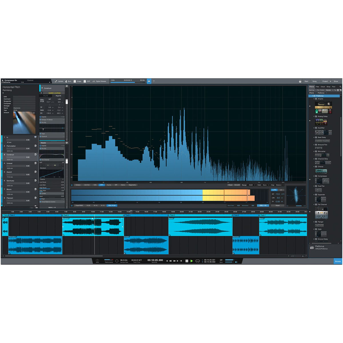 PreSonus Studio One 5 Professional Upgrade from Professional/Producer (all versions) Software - Digital Download