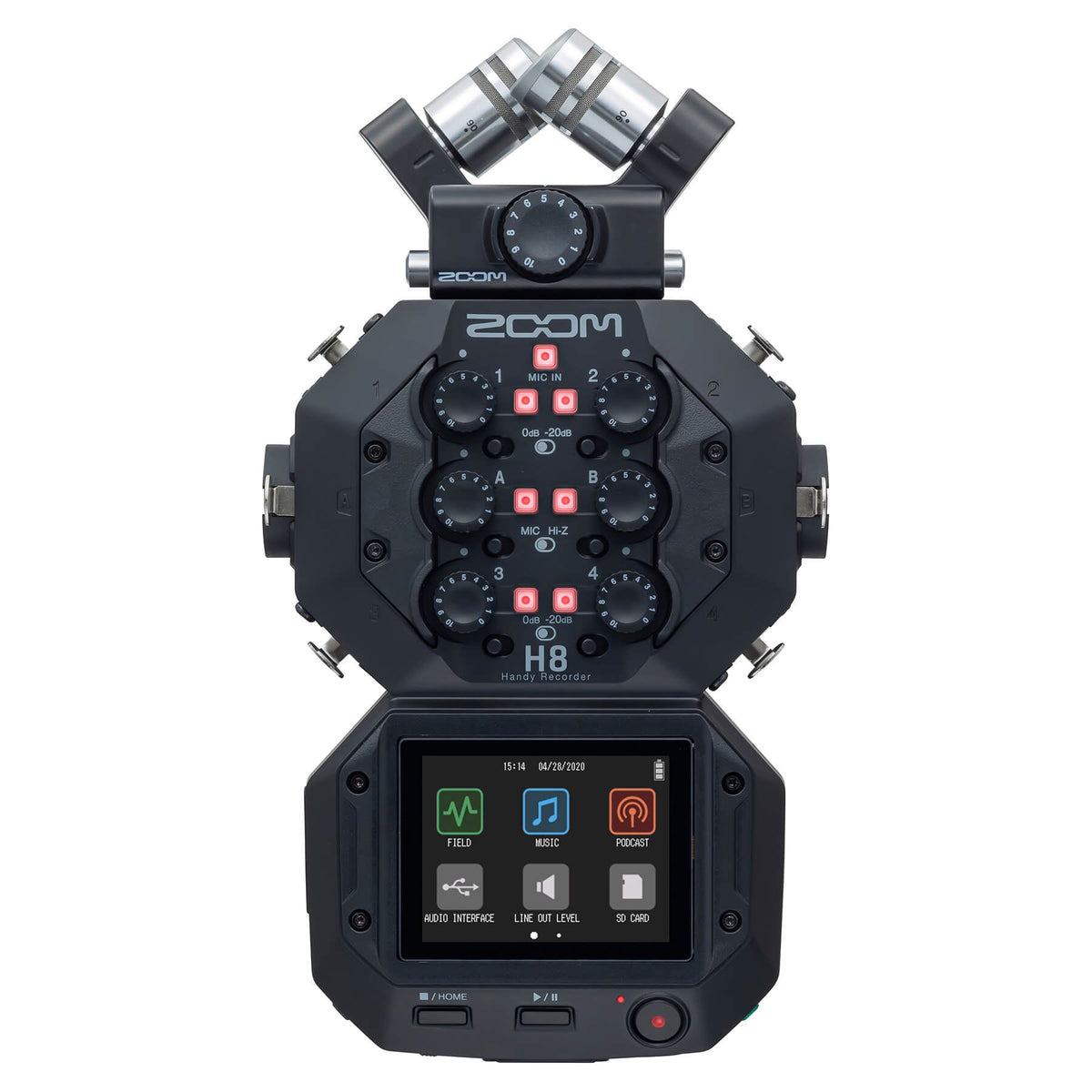 Zoom H8 Digital Handy Recorder