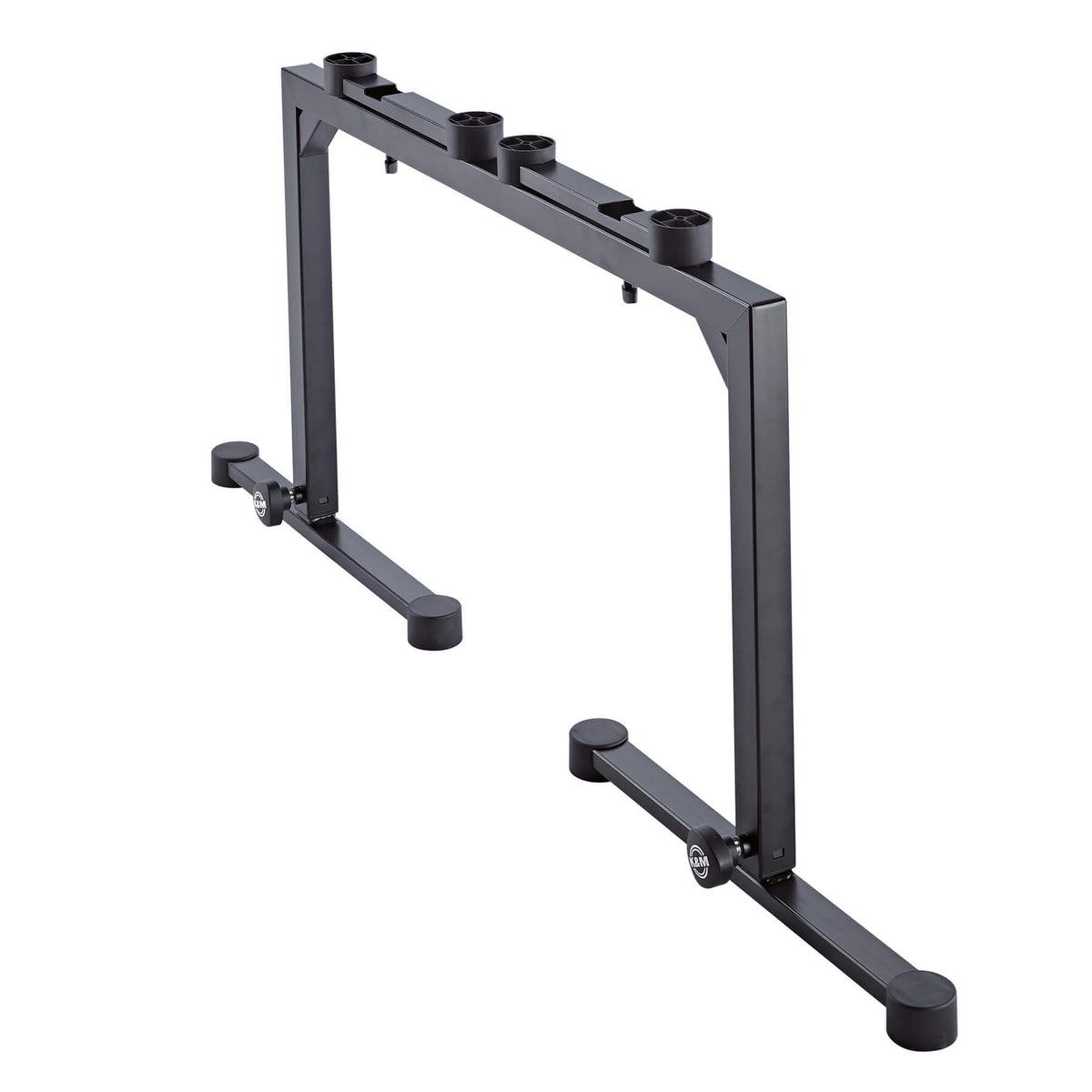 K&M 18810 Black Omega Table-Style Keyboard Stand