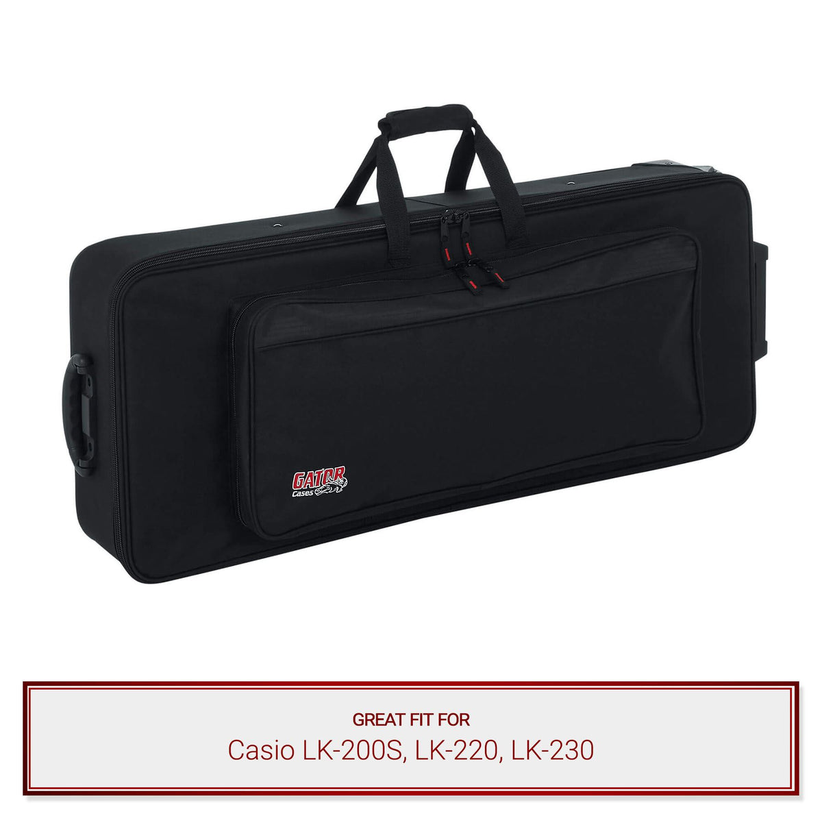 Gator Keyboard Case for Casio LK-200S, LK-220, LK-230