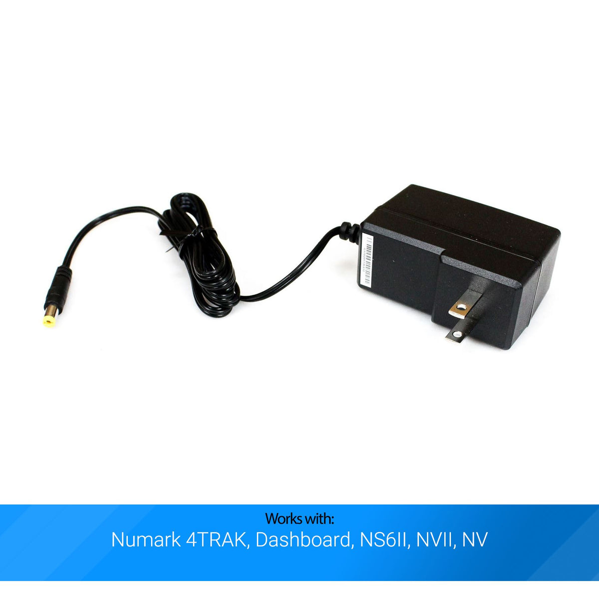 Numark 4TRAK, Dashboard, NS6II, NVII, NV Power Adapter