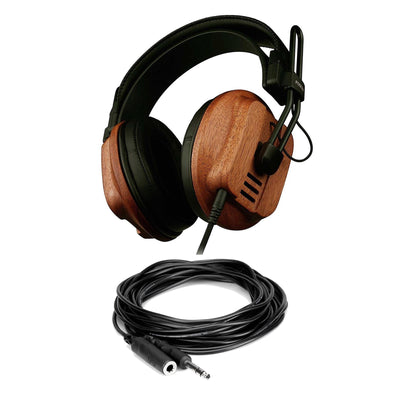 Fostex T60RP Headphones w/ 10-Foot Headphone Extension Cable Bundle