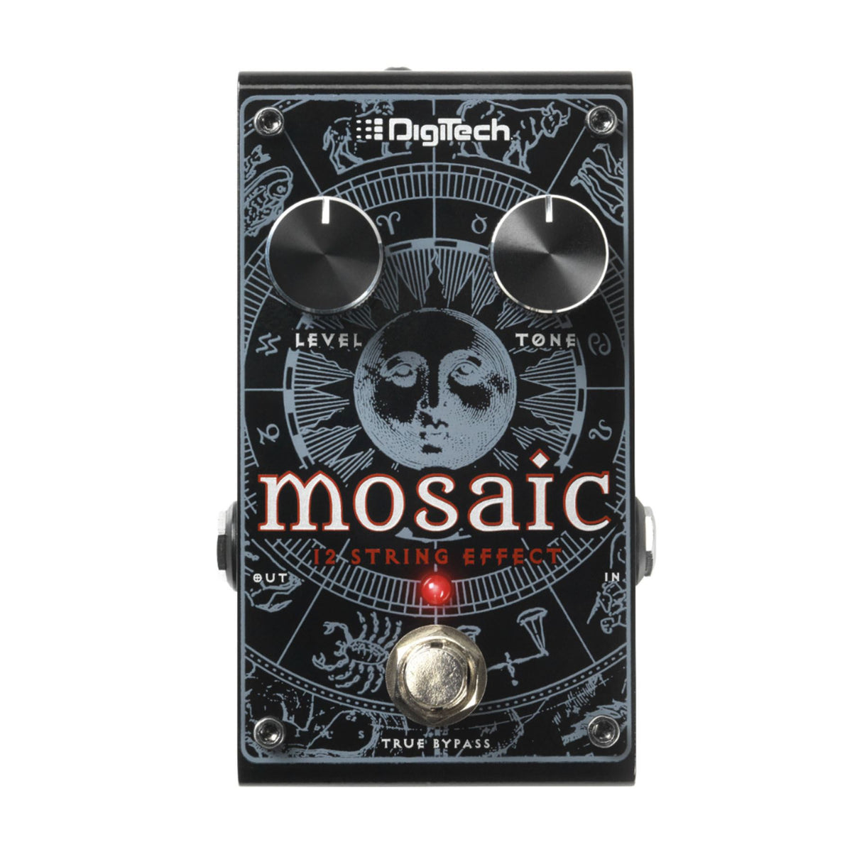 Digitech Mosaic Polyphonic 12-String Effect Pedal with Power Supply