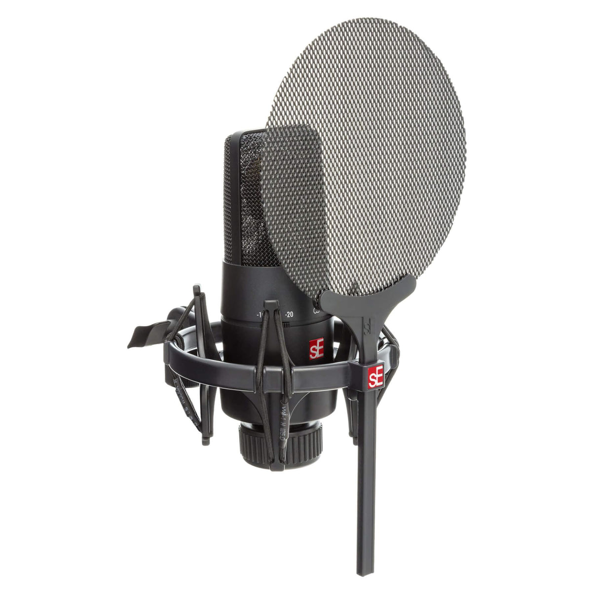 sE Electronics X1-S-VOCAL-PACK X1-S Microphone with Shockmount and Cable Bundle
