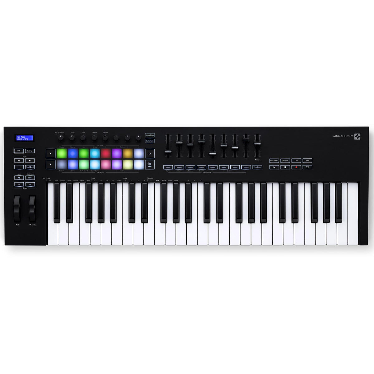 Novation Launchkey 49 MK3 USB/MIDI 49-Key Keyboard Controller