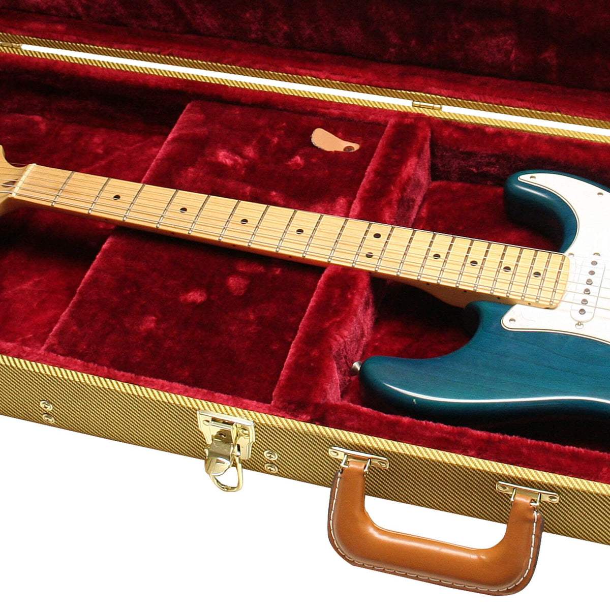 Gator Cases Tweed Delexe Electric Guitar Wood Case for Ibanez GRX20, IJX121, IJX40 Electric Guitars