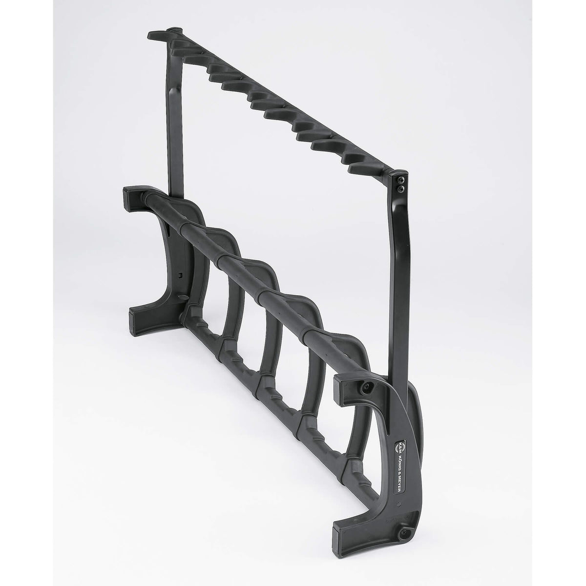 K&M 17515 Black Guardian 5-Guitar Stand