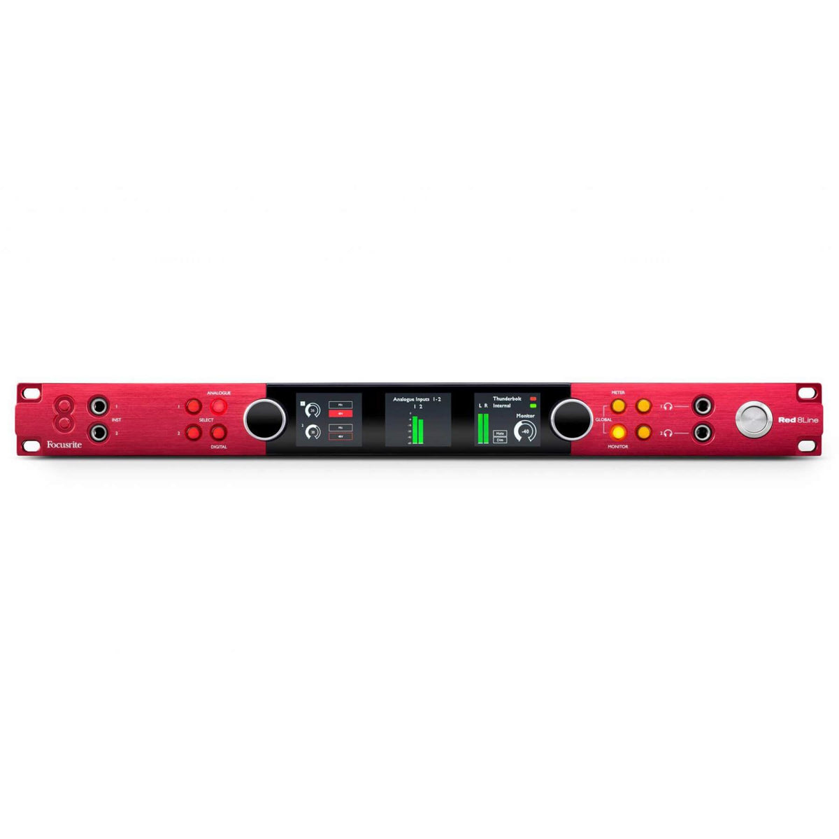 Focusrite Pro Red 8Line 58x64 Thunderbolt 3 Audio Interface