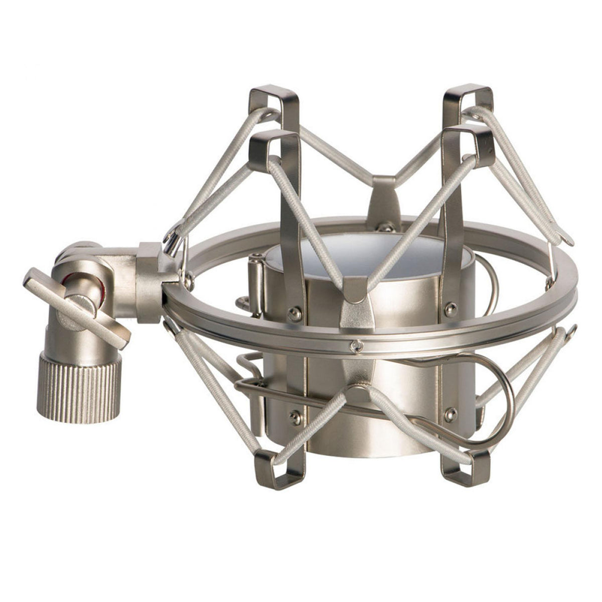 Silver Shock Mount for Neumann TLM 102 Microphone