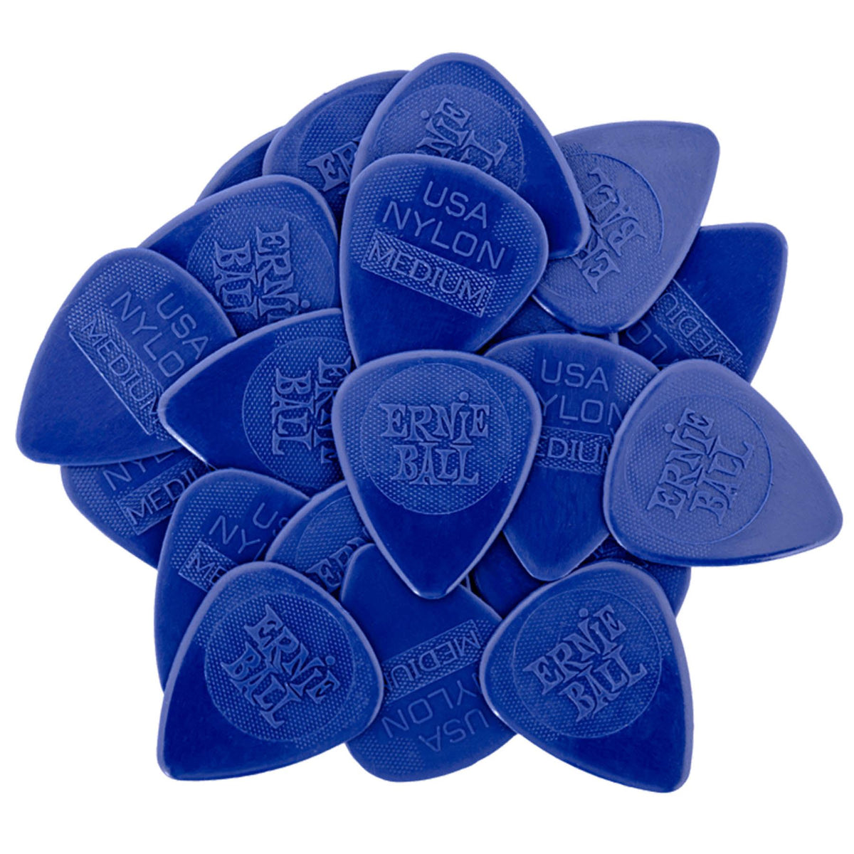 Ernie Ball P09131 Medium Nylon Picks 50-Pack