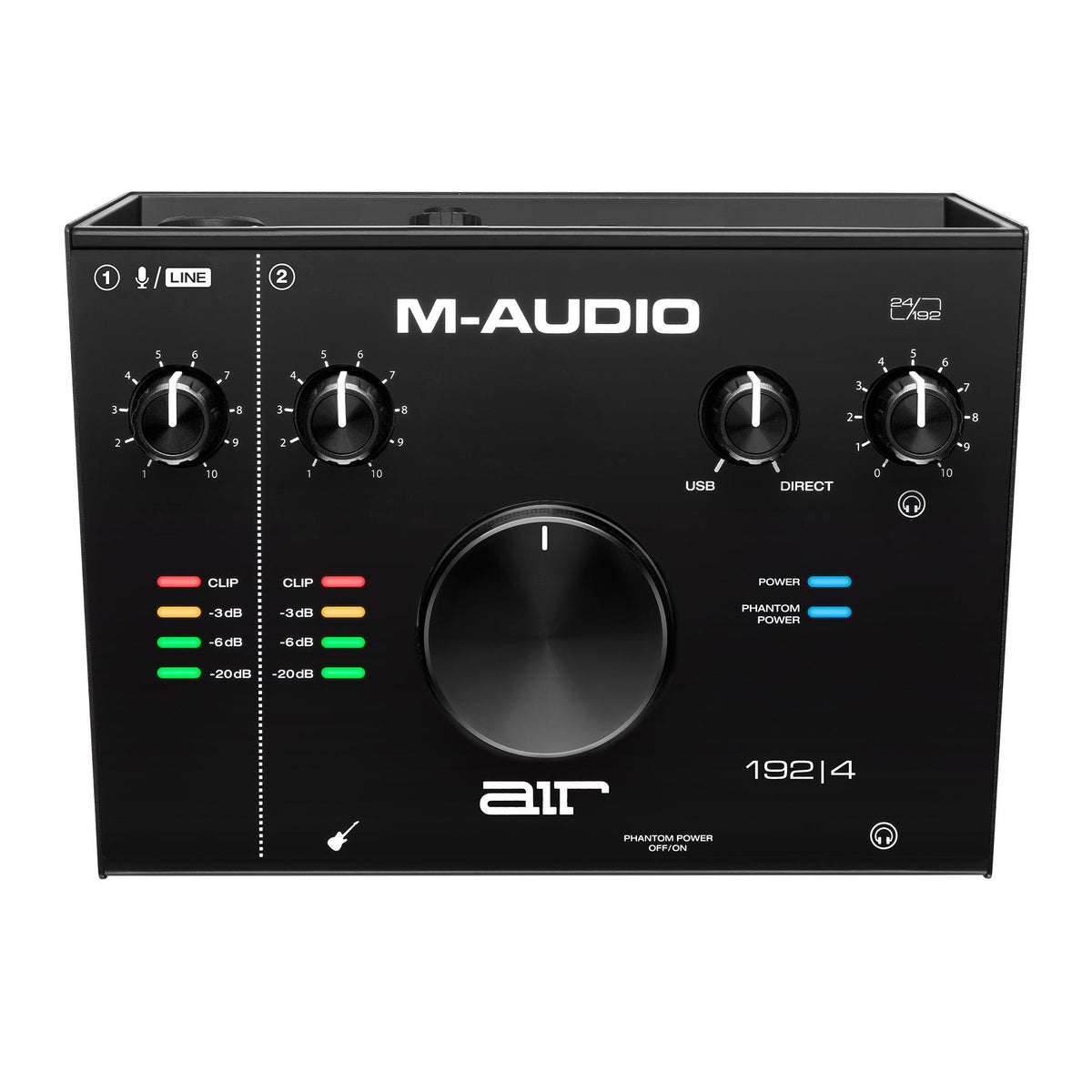 M-Audio Air 192|4 2-In/2-Out 24/192 USB-C Audio Interface with ProTools|First and Ableton Live Lite