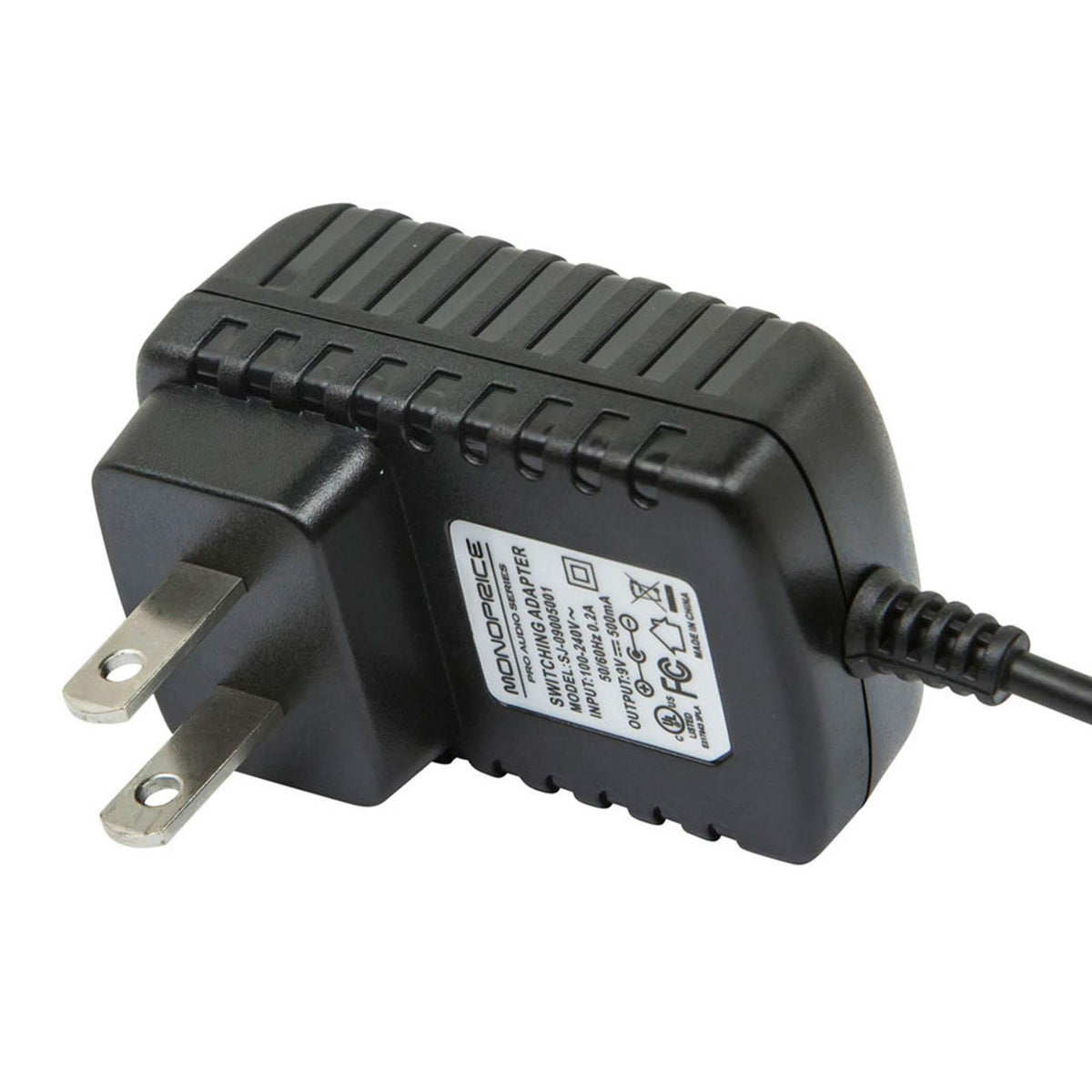 Monoprice 9VDC 500mA Power Adapter