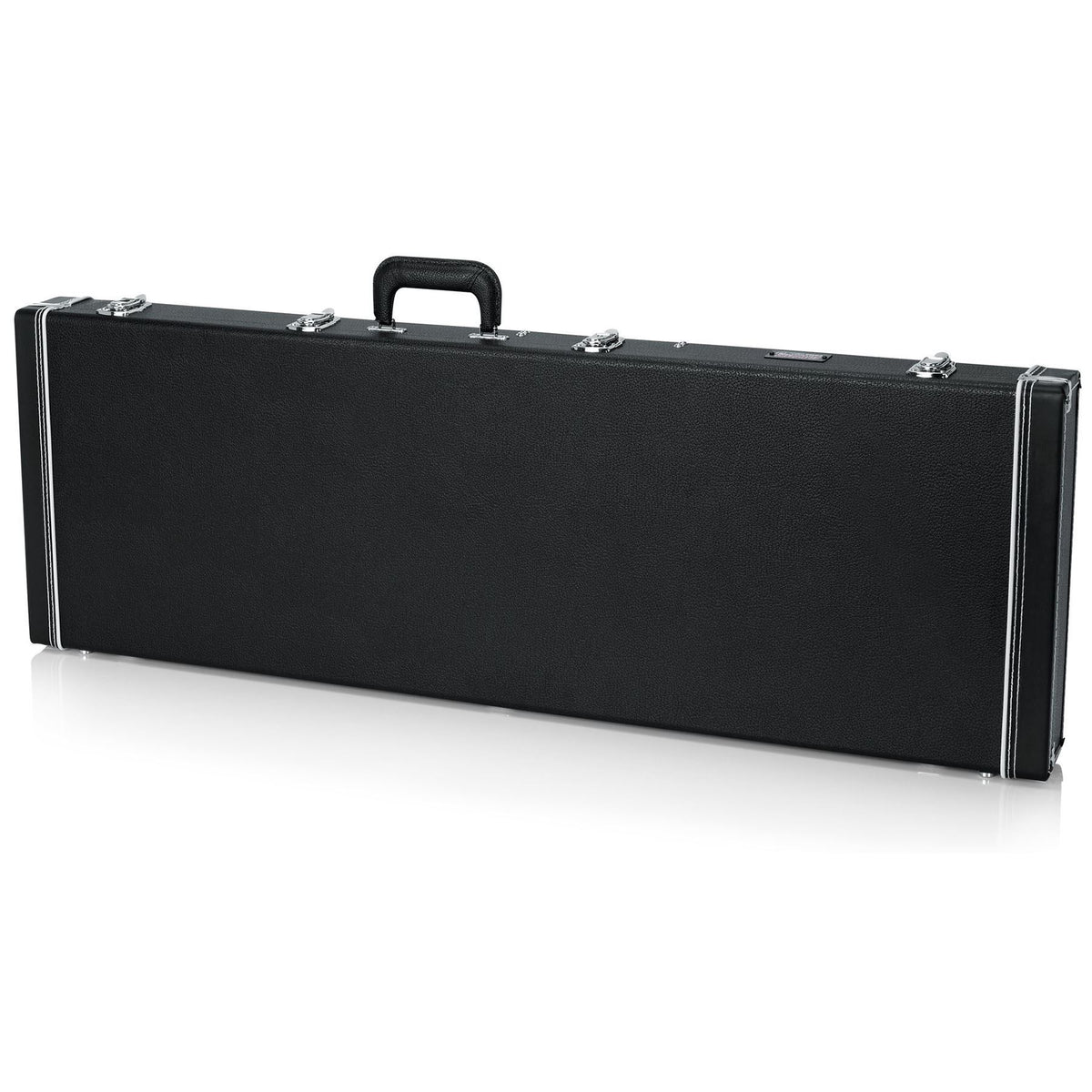Gator Cases Deluxe Wood Case for Schecter STILETTO CUSTOM-4, CUSTOM-5, CUSTOM-6 Bass Guitars