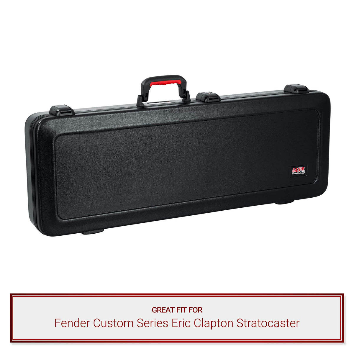 Gator TSA Electric Case fits Fender Custom Series Eric Clapton Stratocaster