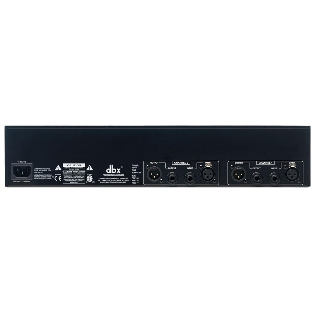 DBX 231S 31-Band Graphic Equalizer