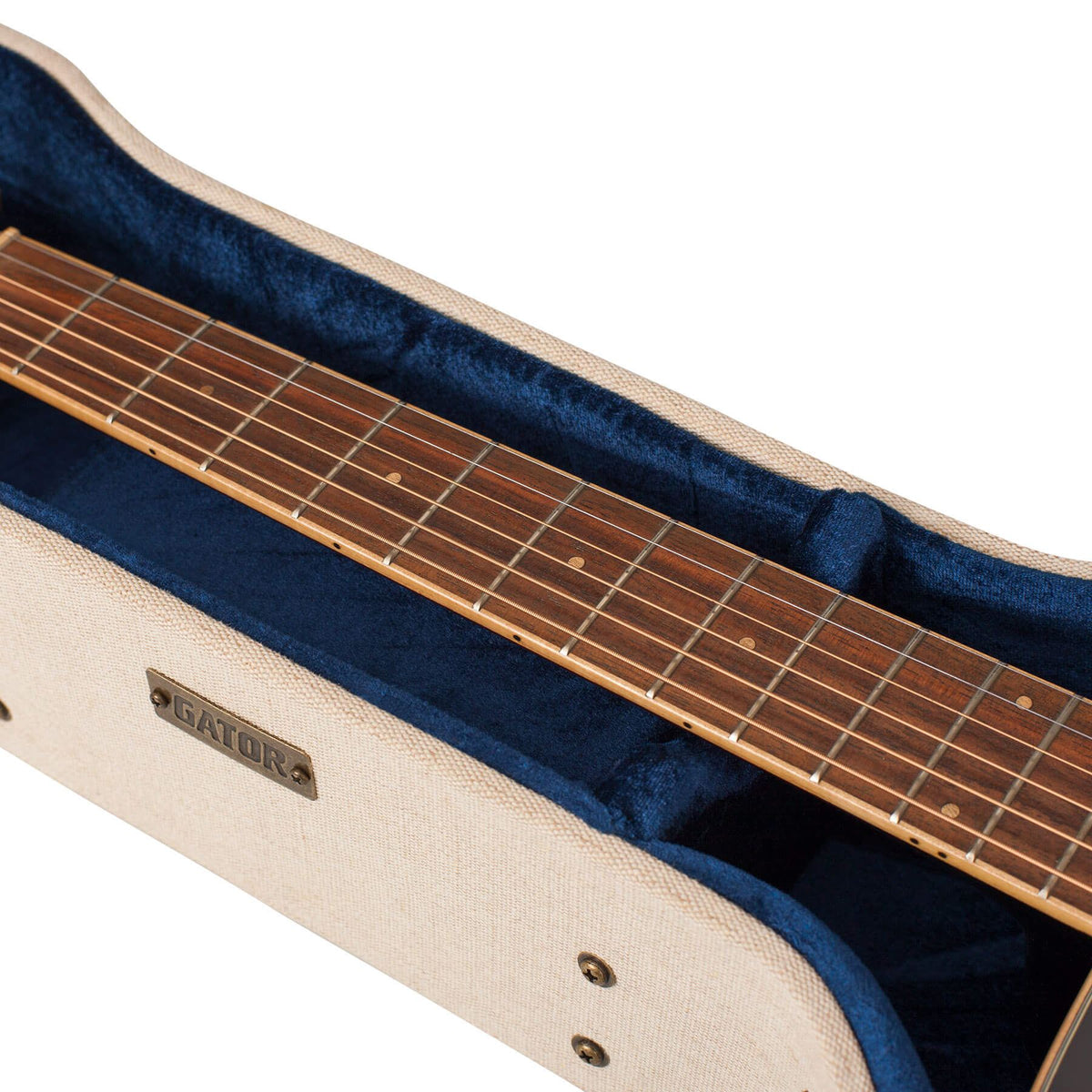 Gator Cases Journeyman Dreadnought Acoustic Guitar Case for Washburn WD10SCE, WD10SCE12, WD10SCEB Acoustic Guitars