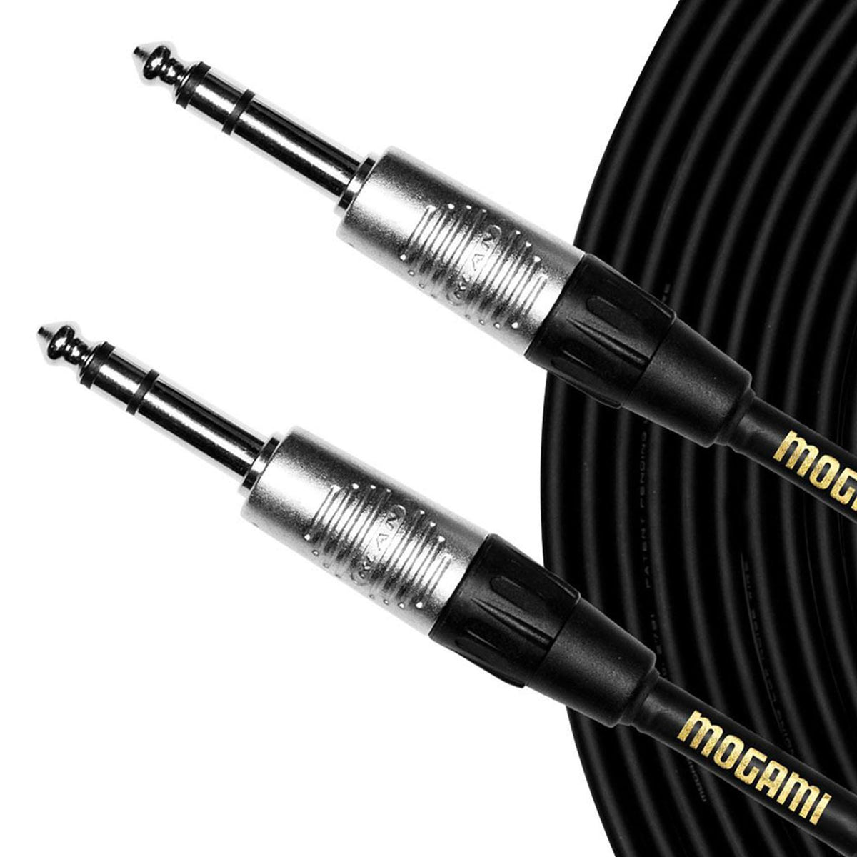 "Mogami 20-foot CorePlus 1/4"" TRS to 1/4"" TRS Cable MCP SS 20"