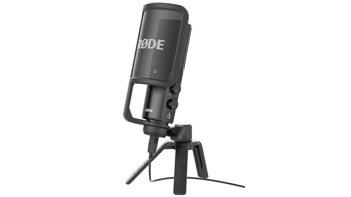 Rode NT-USB Microphone Bundle with Samson SR350 Headphones