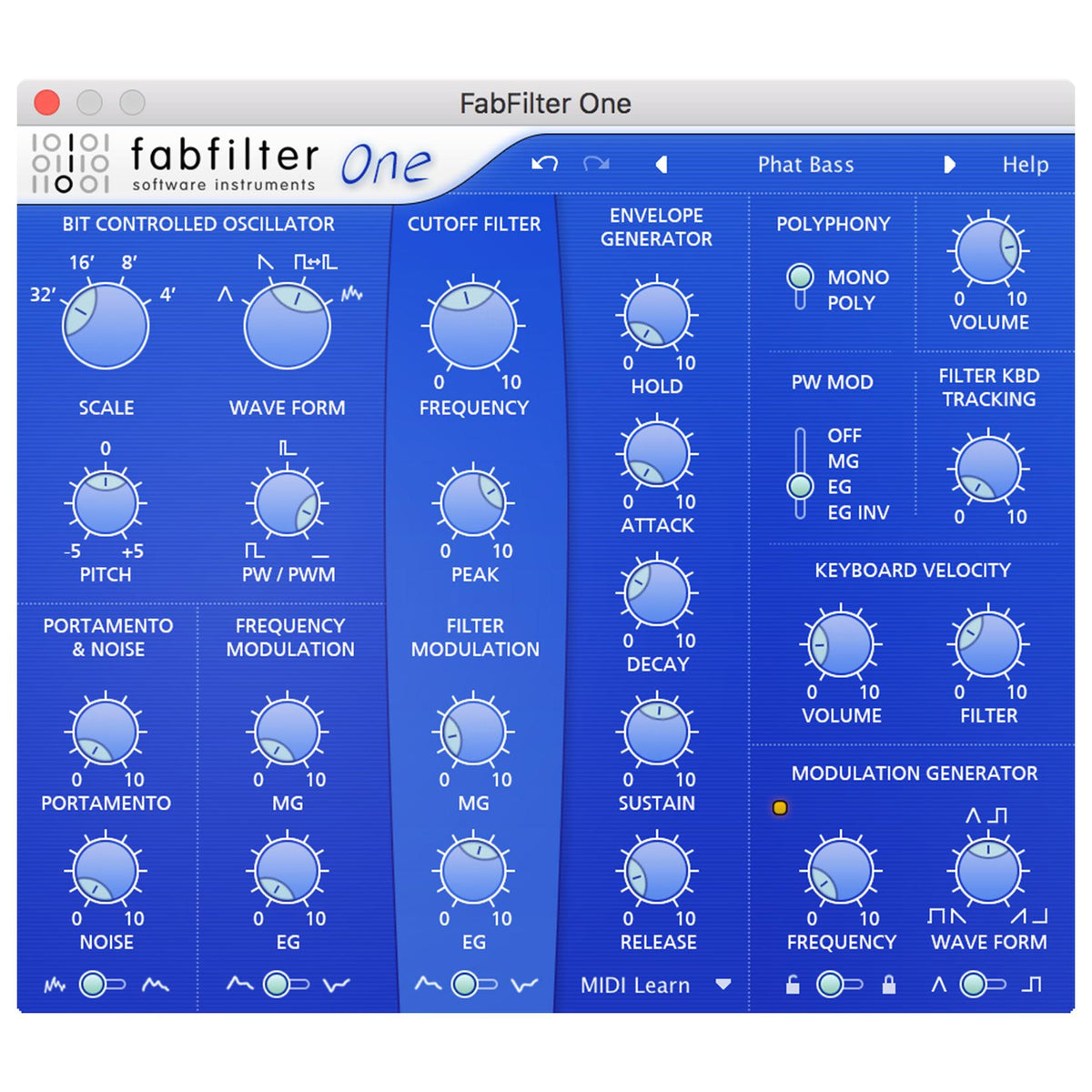 FabFilter One (Digital Download)